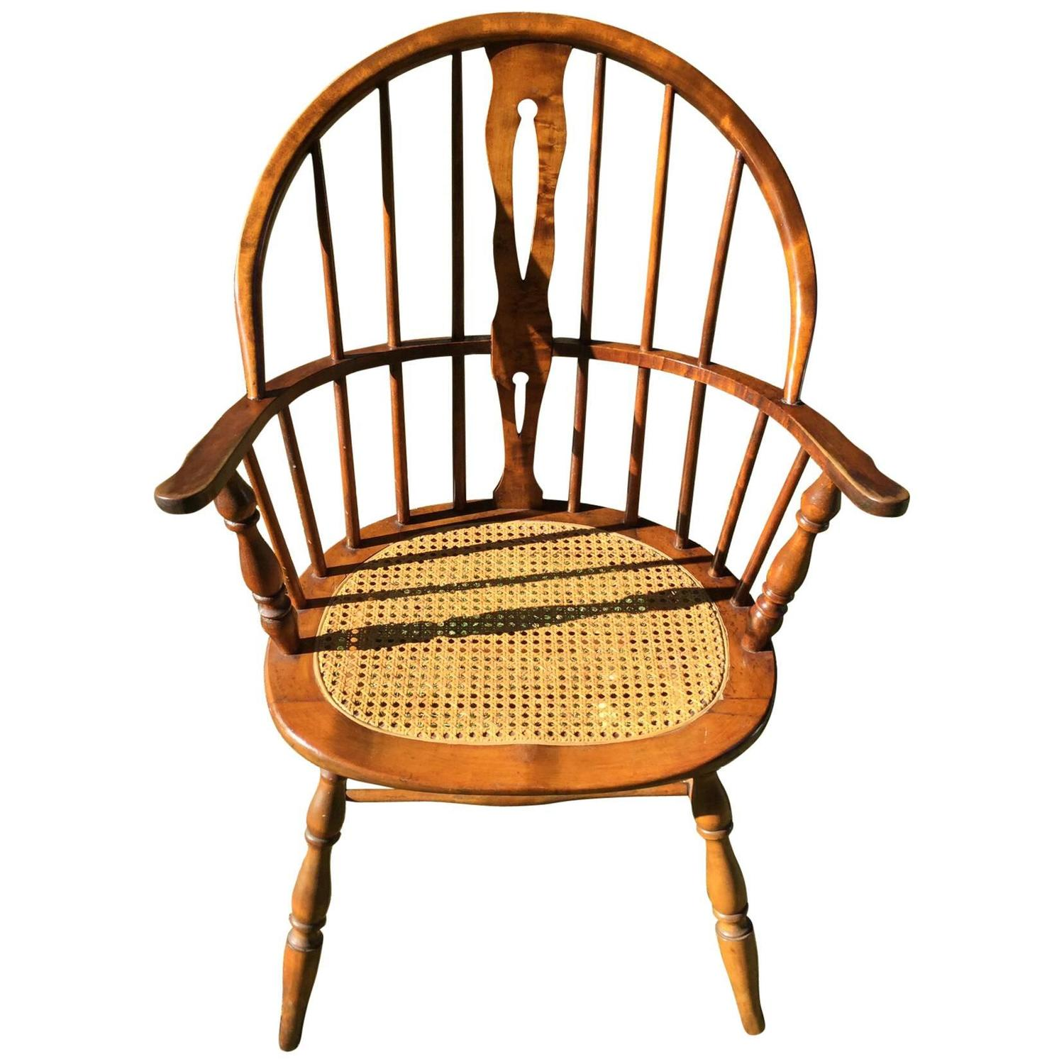 Windsor Style Chairs Early American Windsor Style Armchair For Sale At 1stdibs