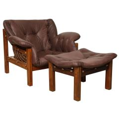 Chair And Ottoman Sets Under 200 Swivel Lazy Boy Jean Gillon For Sale At 1stdibs