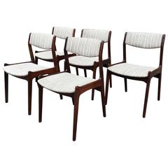 erik buck chairs revolving chair parts delhi set of four rosewood dining by for sale at 1stdibs