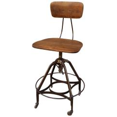 United Chair Medical Stool Modern Club Early Industrial Toledo Drafting For Sale At 1stdibs