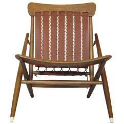 Foldable Lounge Chair Revolving India Rare Maruni Studio Folding Hiroshima Japan
