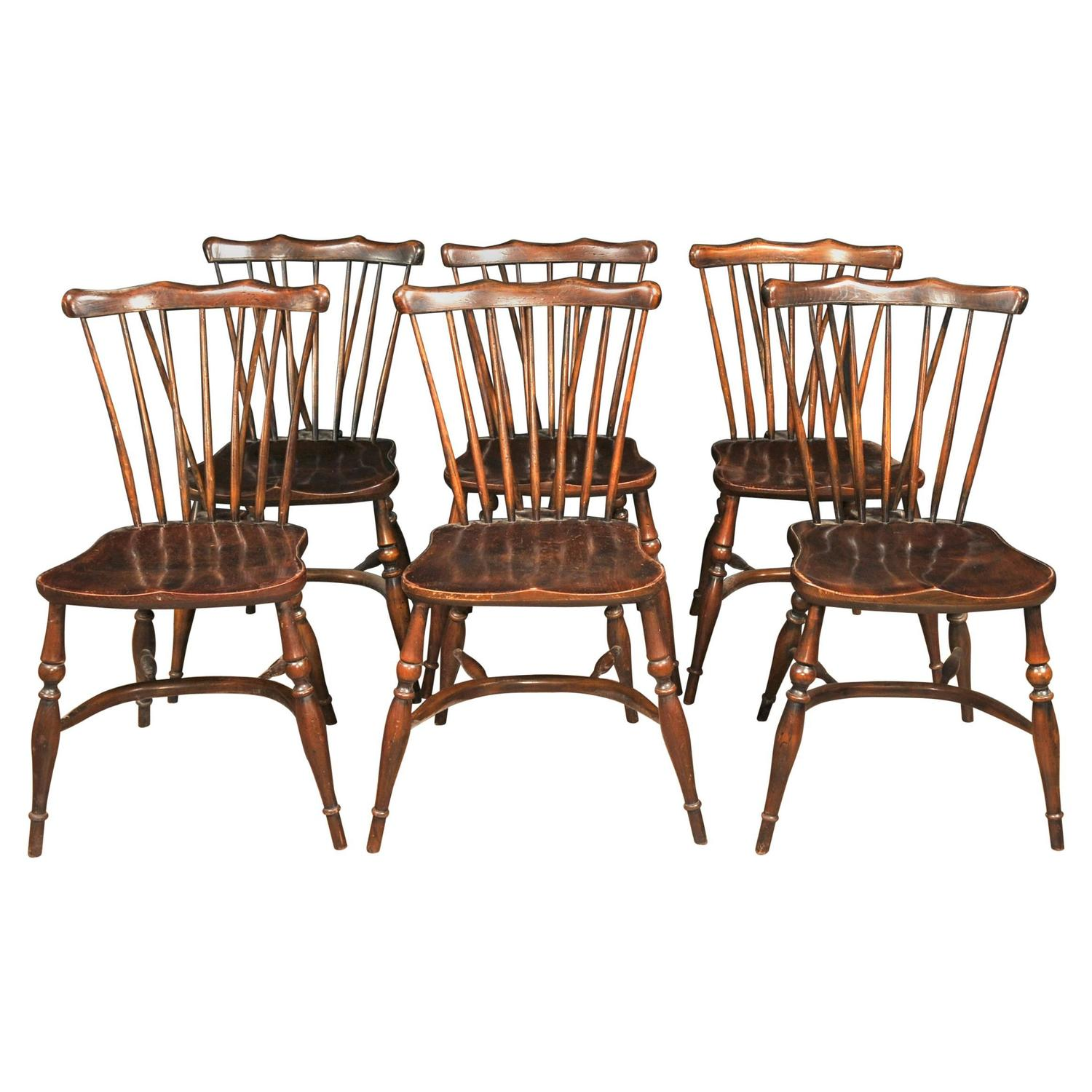 antique windsor chair identification vintage wooden childs set of eight oak chairs 1920 kitchen