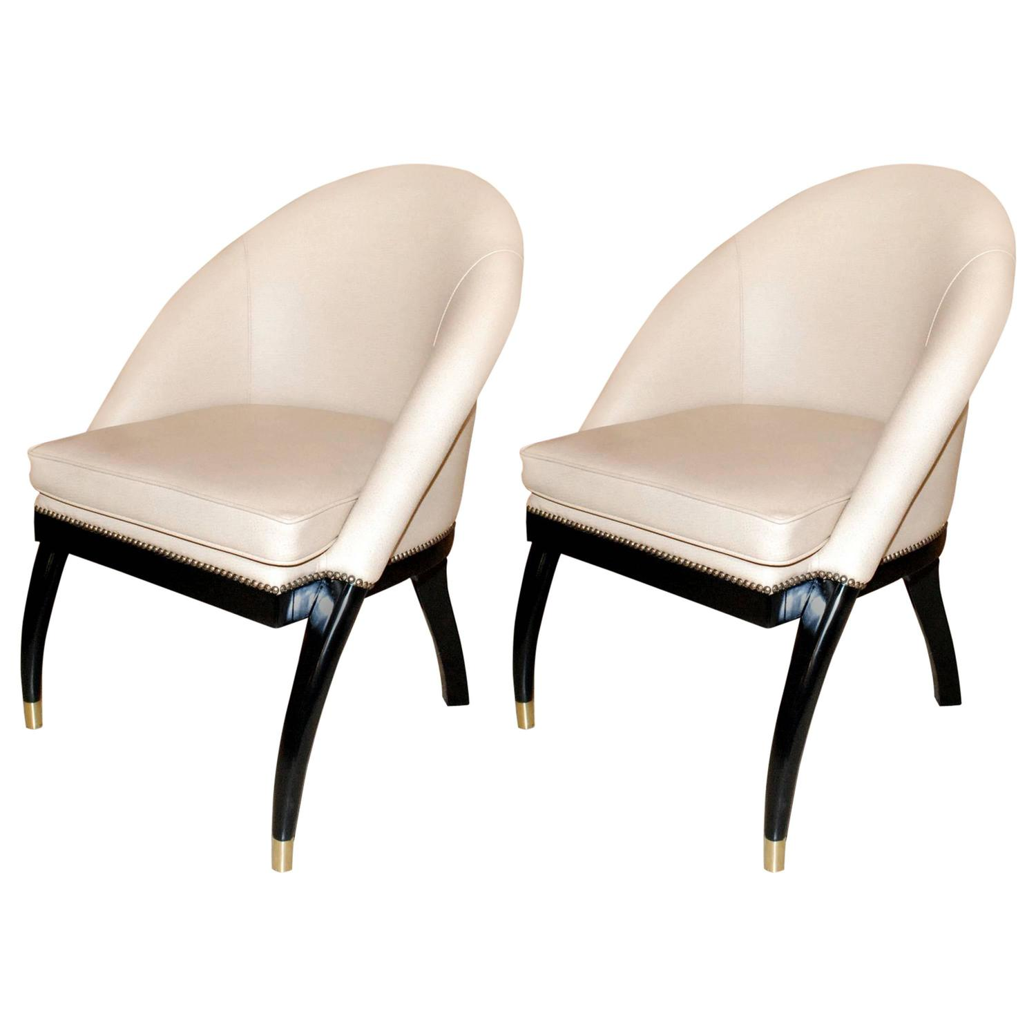 shelby williams chairs the wooden chair pair of side by for sale at 1stdibs