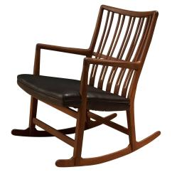 Hans Wegner Rocking Chair Wheelchair Mat Early Ml 33 For Sale At 1stdibs
