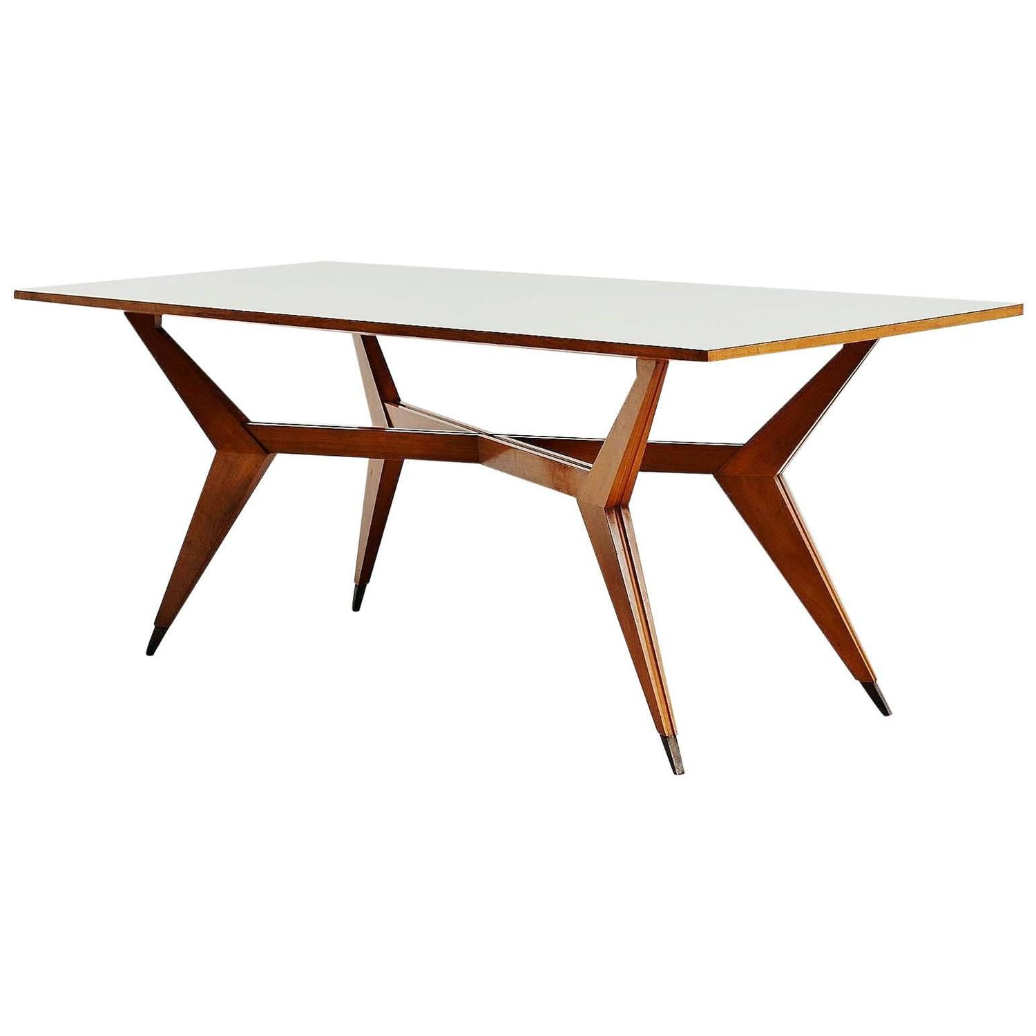 pre tables and chairs home goods dining room ico parisi table mim production 1950 for sale
