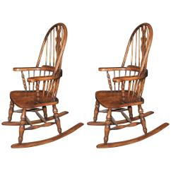 Farmhouse Chairs For Sale Modern Reading Chair Hand Carved English Windsor Rocking