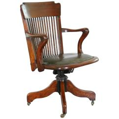 Oak Desk Chair Custom Banquet Covers 1930s American For Sale At 1stdibs