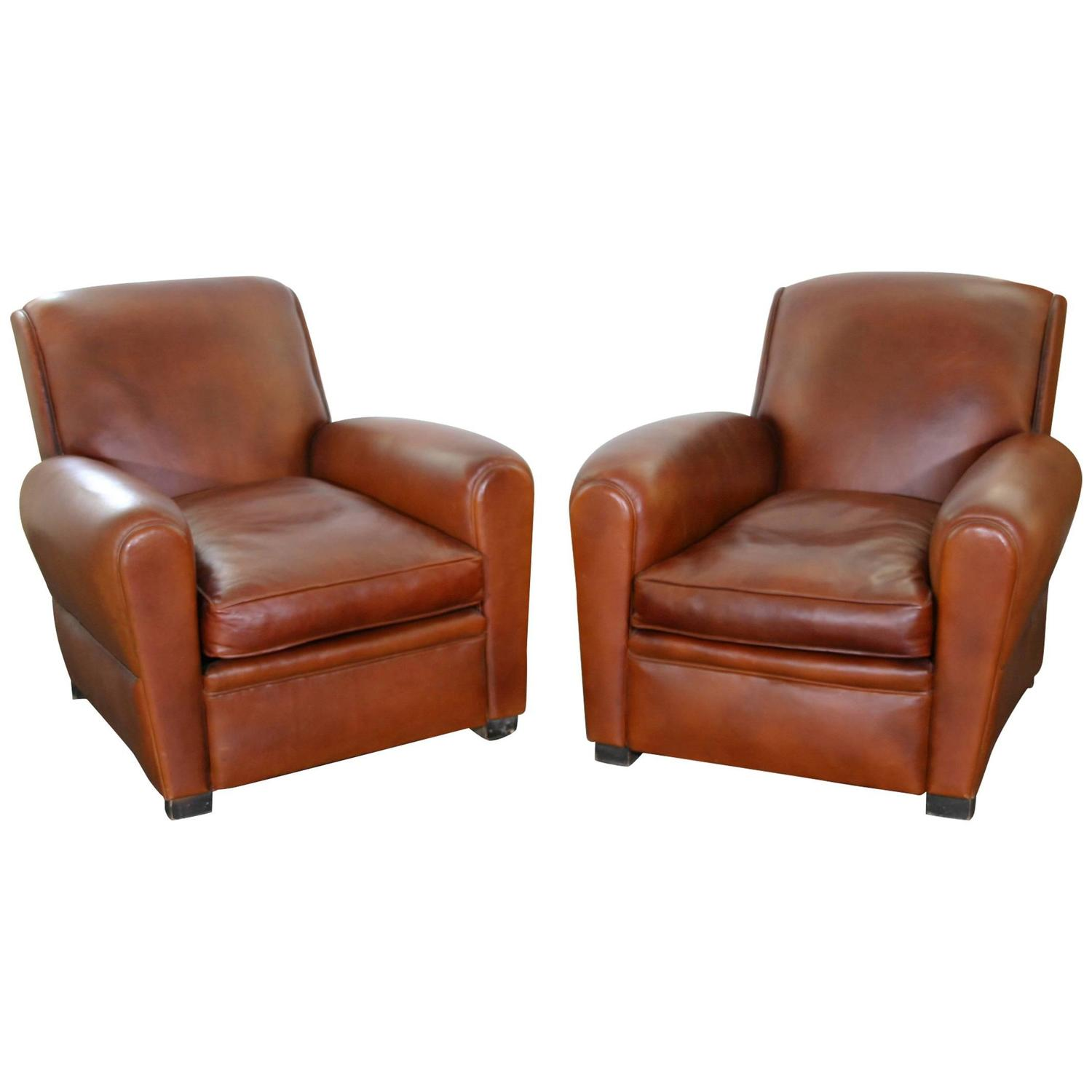 leather club chairs for sale baby bumbo chair pair of at 1stdibs