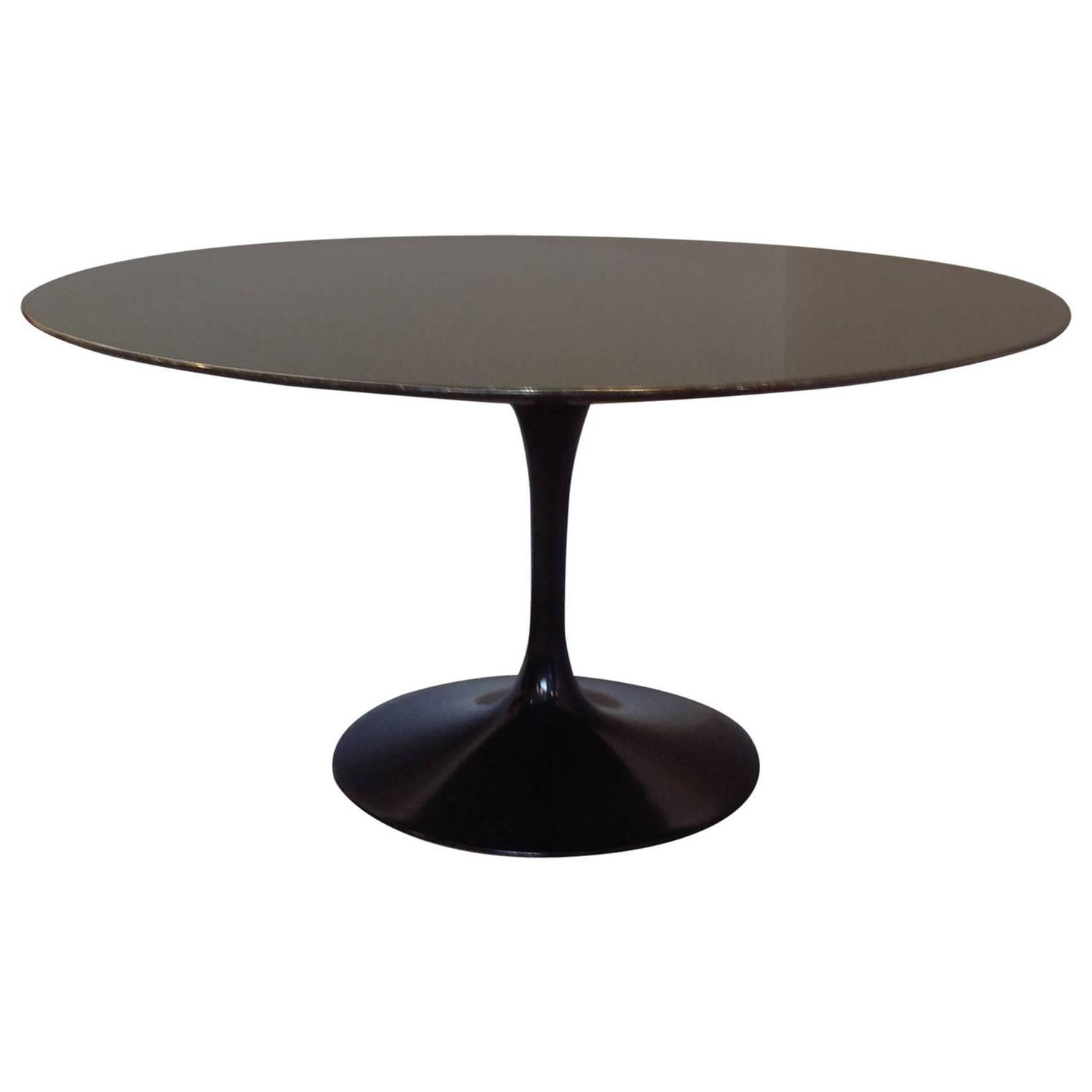 round marble table and chairs restaurants tables used for sale saarinen granite top pedestal dining 54 quot