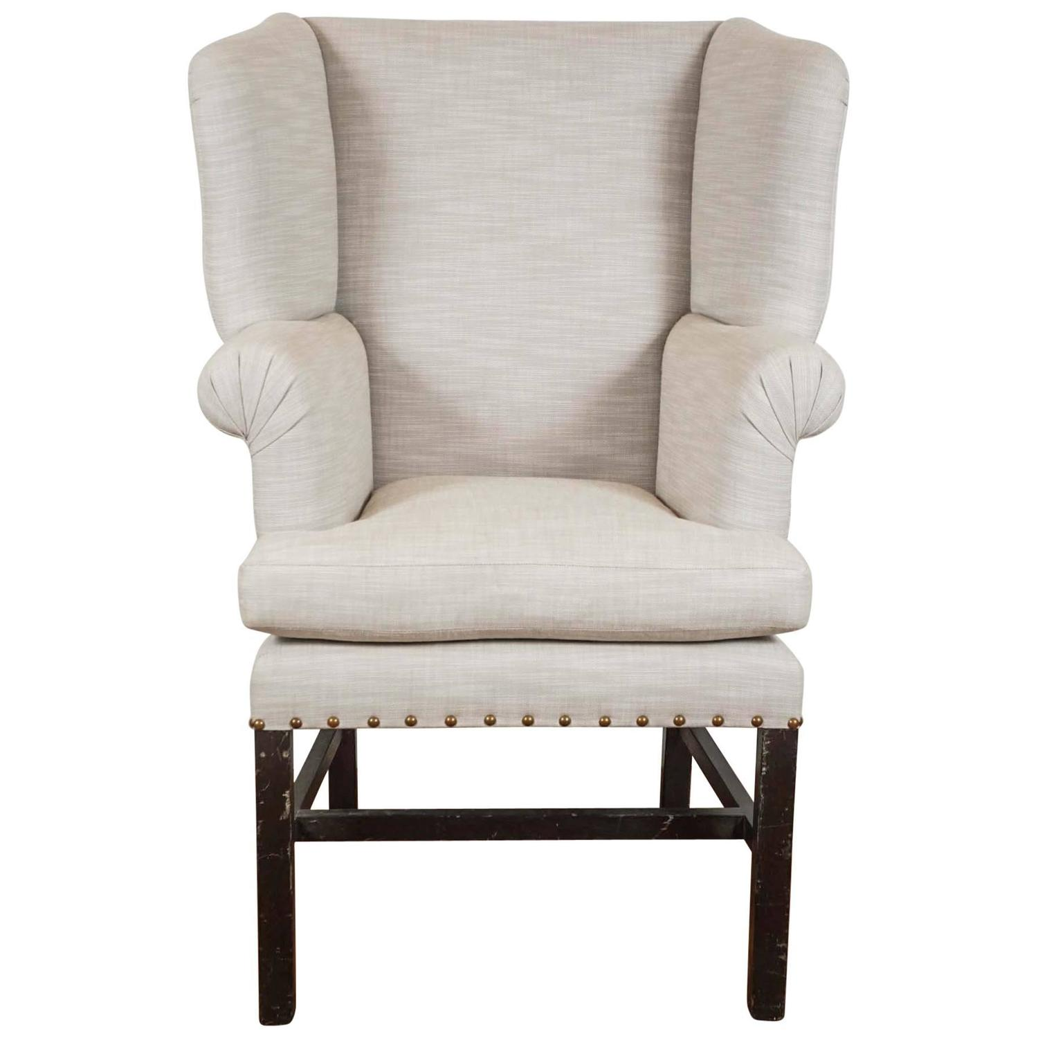 Petite Chairs Petite Wingback Chair For Sale At 1stdibs
