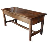 19th Century French Farm Table For Sale at 1stdibs