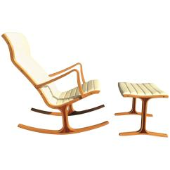 Rocking Chair Footrest Fishing Ebay Tendo Mokko Heron And For Kosuga