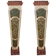 Neo Gothic Cluster Column Pedestal At 1stdibs