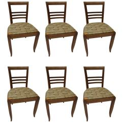 Sea Grass Chairs Amazon Outdoor Set Of Six French Oak With Seagrass Seats For Sale