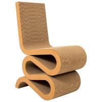 Wiggle Side Chair by Frank Gehry, 1972 For Sale at 1stdibs