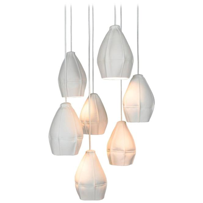 Kawa Pendant Cer From Souda Seven Porcelain Diffusers Ceramic Chandelier