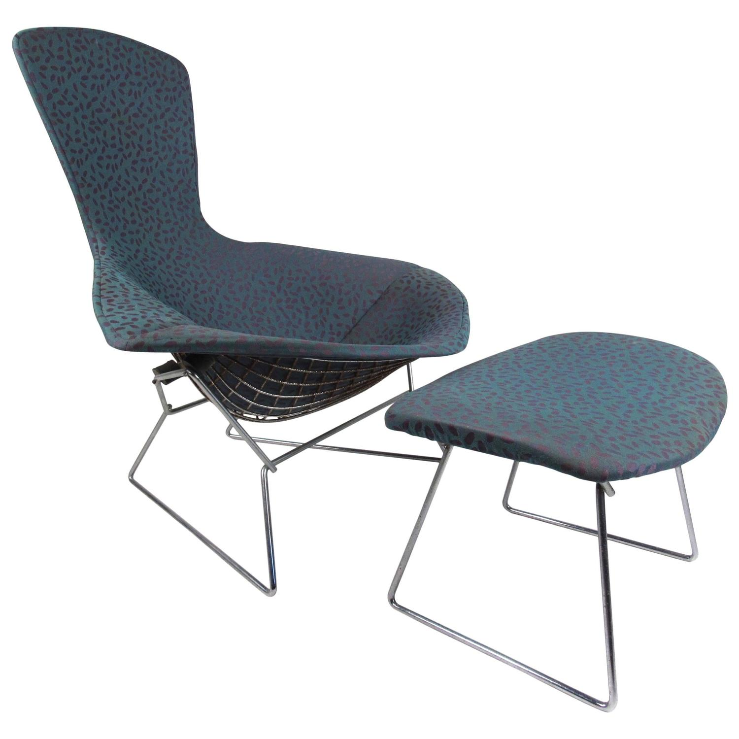 Harry Bertoia Chair Harry Bertoia Quotbird Quot Chair With Ottoman By Knoll Furniture