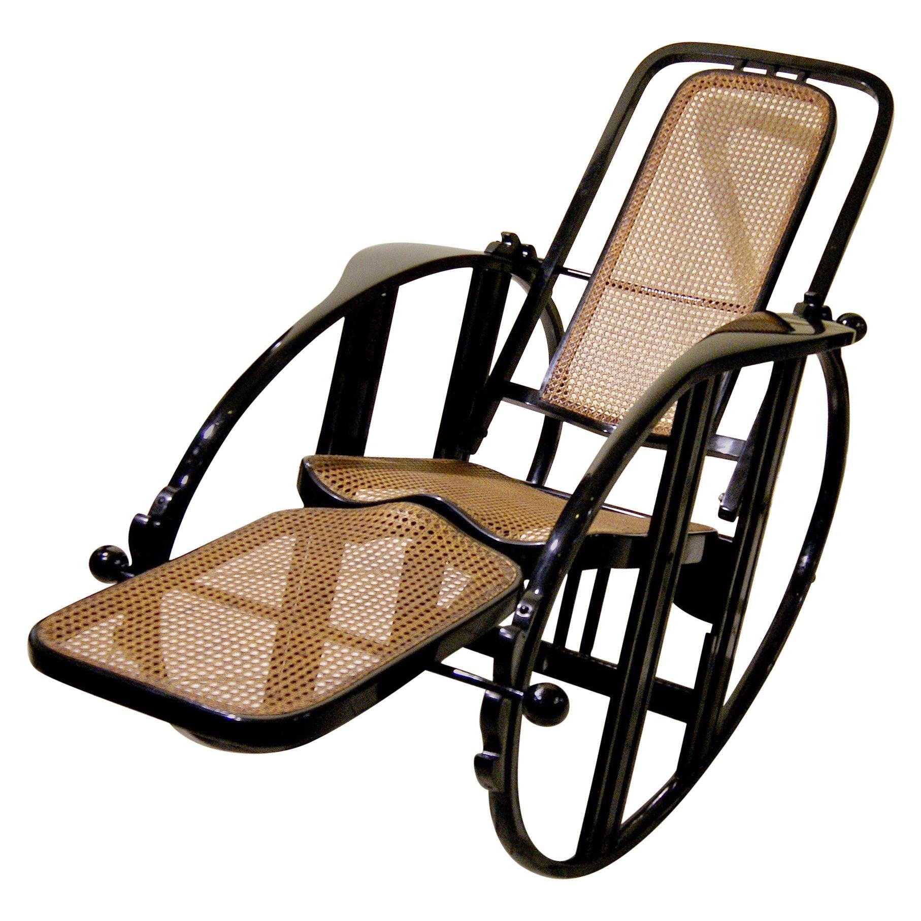 black rocking chairs electric bath elderly antonio volpe udine josef hoffmann attr egg chair circa 1922 at 1stdibs
