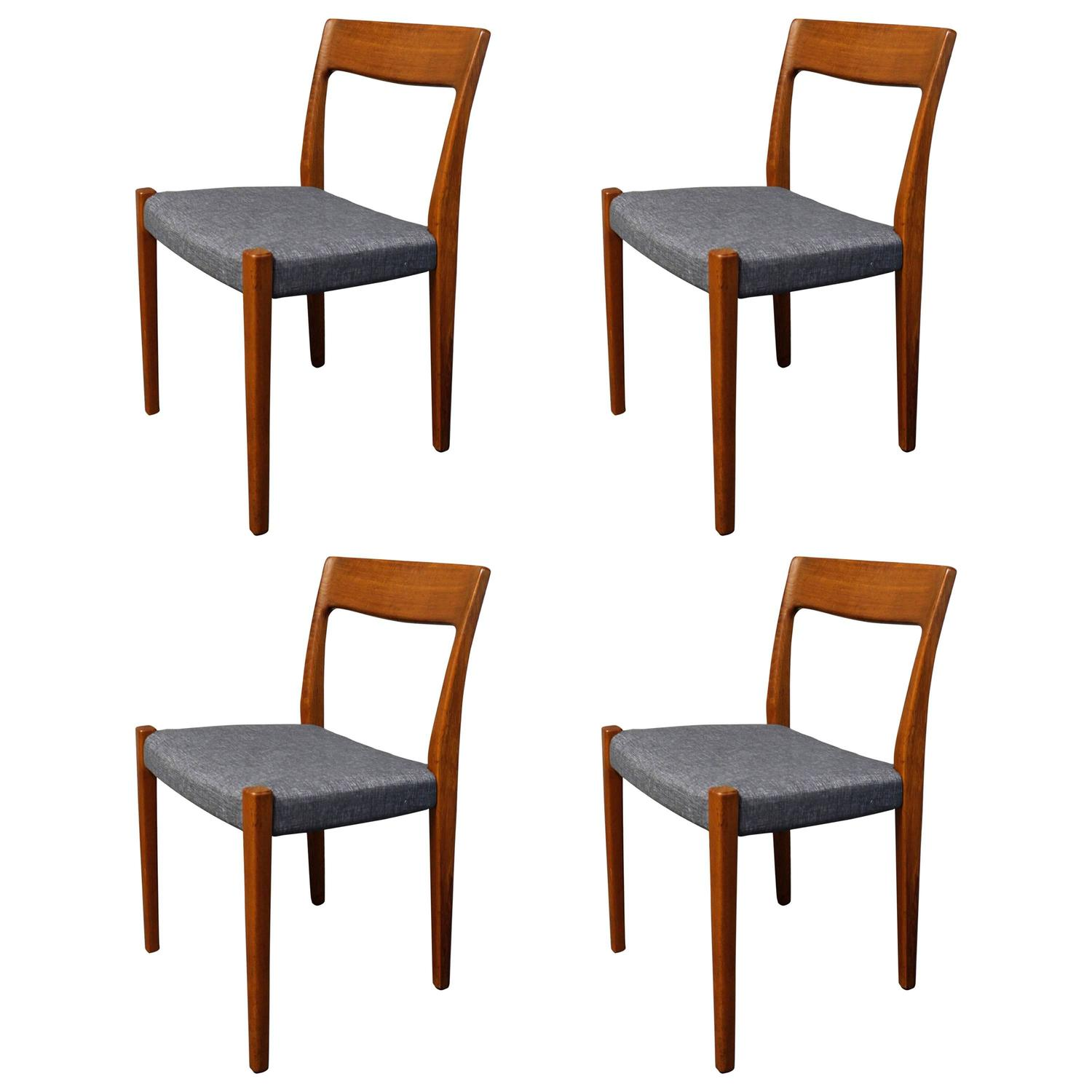 teak dining room chairs for sale ergonomic chair sewing four svegards markaryd at 1stdibs