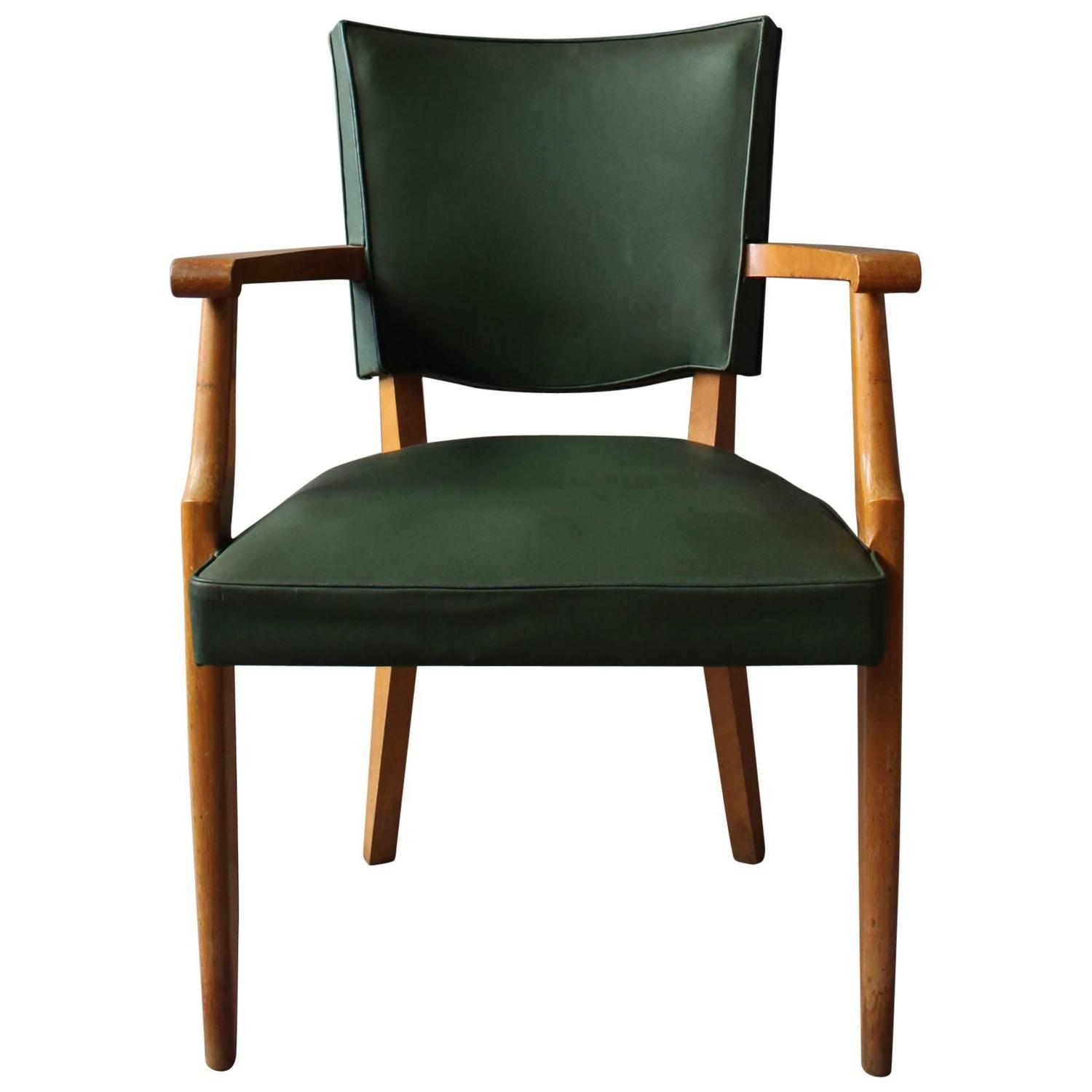 Artistic Chairs French Art Deco Desk Chair For Sale At 1stdibs