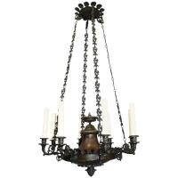 Antique Chandelier, Empire Style Chandelier For Sale at