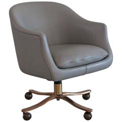 Modern Grey Leather Office Chair Decowell Revolving Price List Ward Bennett Desk For Sale At 1stdibs By Bennet Zographos