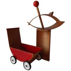 Rocking Chair Cradle Dining Covers In India Creative Playthings Bentwood Lot Of Child 39s Toys