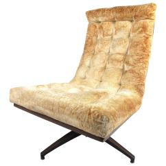 Swivel Chair Mid Century Styles Modern Shell Back Lounge For Sale