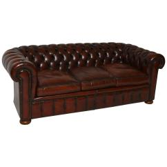 Chesterfield Leather Sofa For Sale Southern Beds Uk Antique At 1stdibs