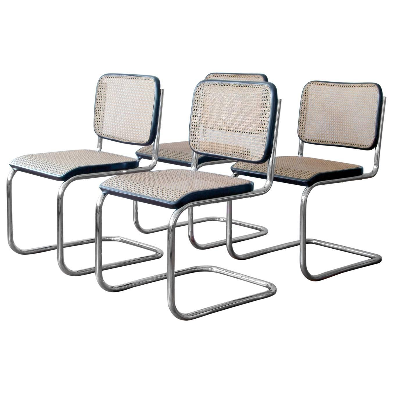 marcel breuer chair hunting swivel bauhaus tubular steel cantilever chairs by