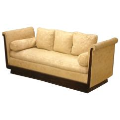 Pottery Barn Goose Down Sofa White Outdoor Uk Dominique Meridian Daybed Or For Sale At 1stdibs
