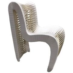 Phillips Collection Seat Belt Chair Aluminum Restaurant Chairs By For Sale At 1stdibs