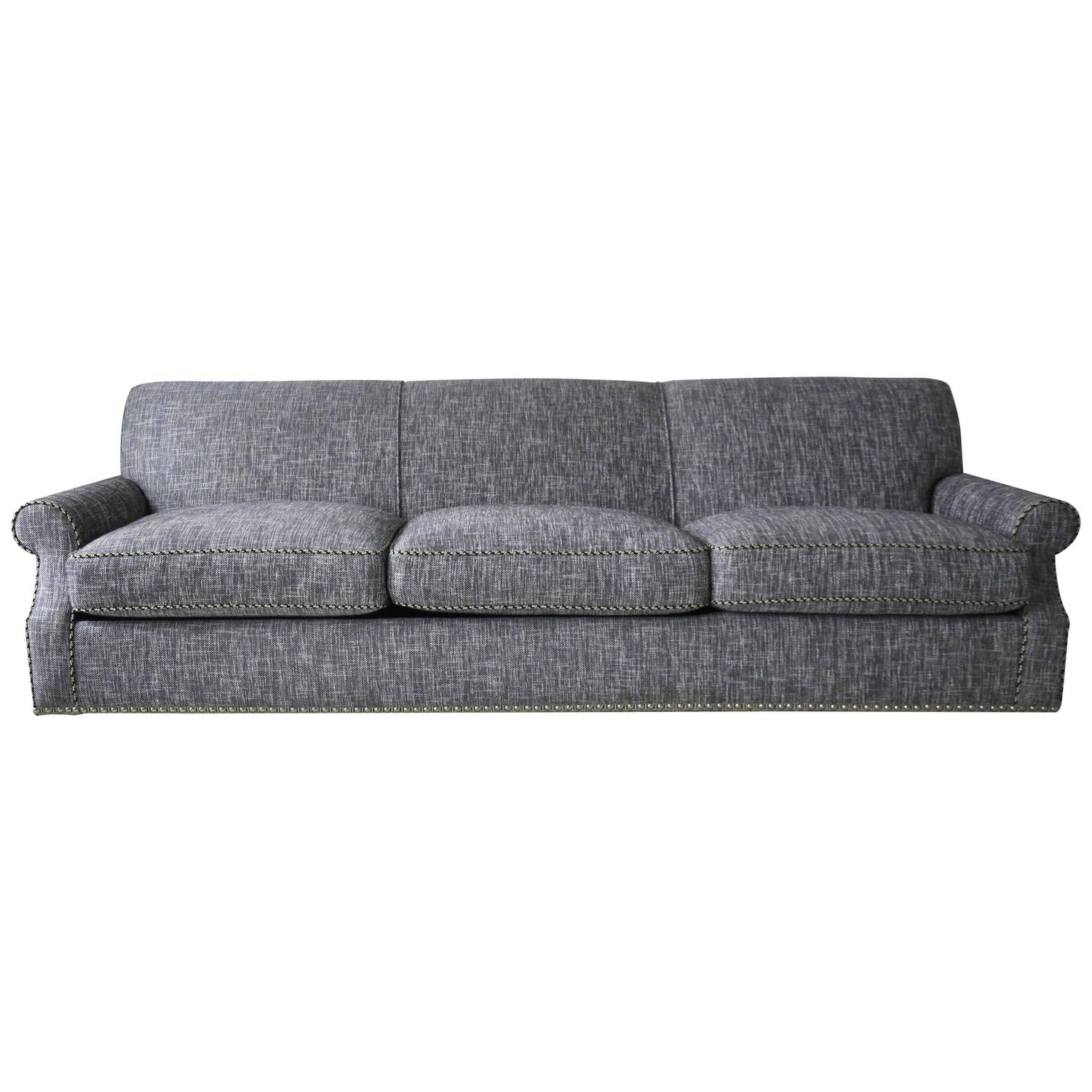 chelsea square sofa big box bed singapore new custom made queen size hide a for sale at 1stdibs