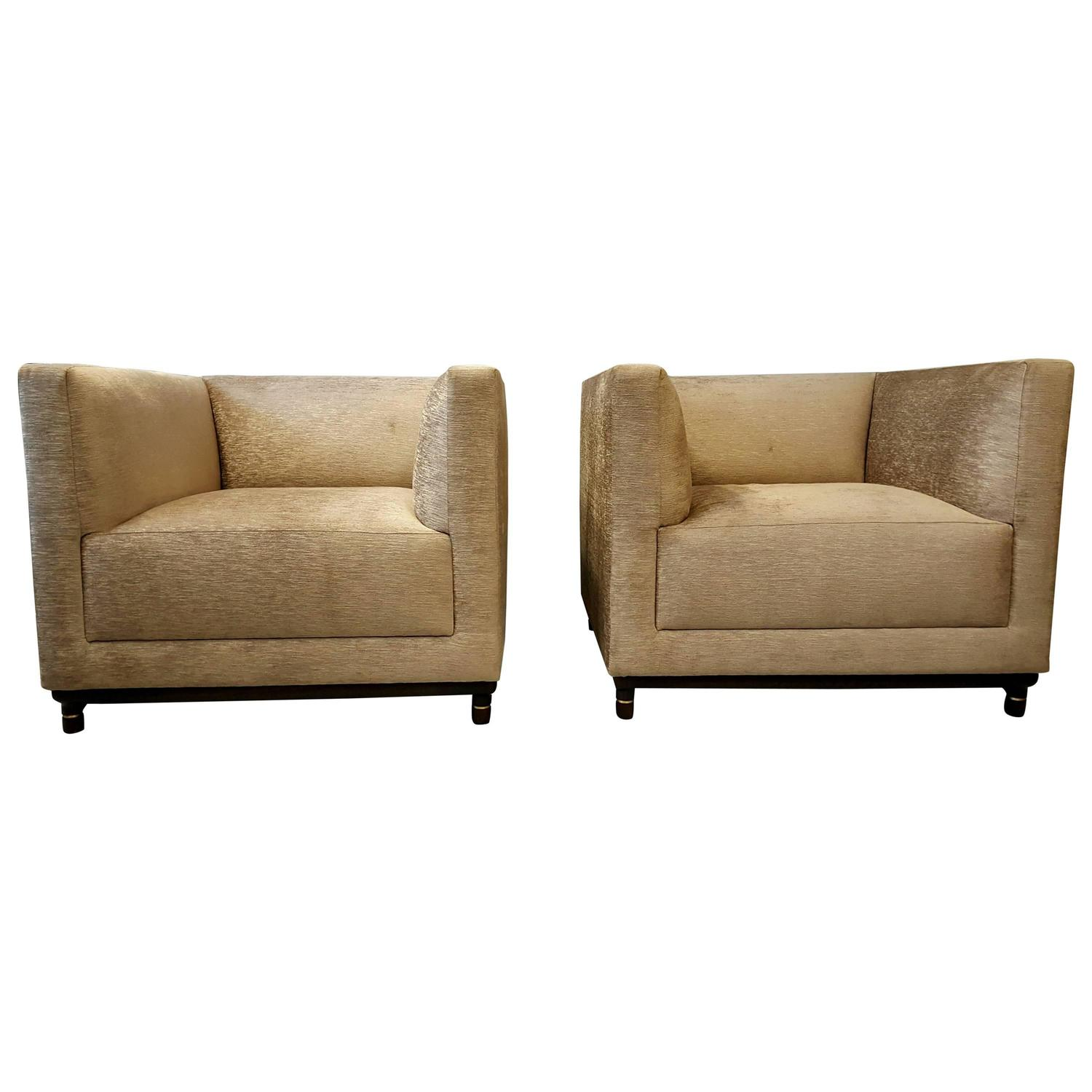 oversized arm chair baby shower bench classic pair of even lounge chairs by