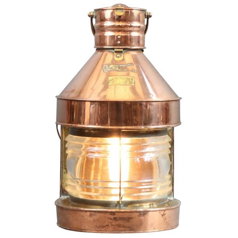 Ships Masthead Lantern at 1stdibs