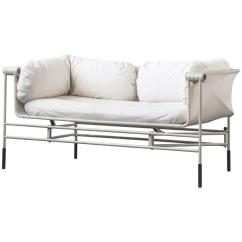 Steel Frame Sofa Collection Fernando Fabric Right Corner Bed Charcoal Foldable Italian With Grey At 1stdibs For Sale