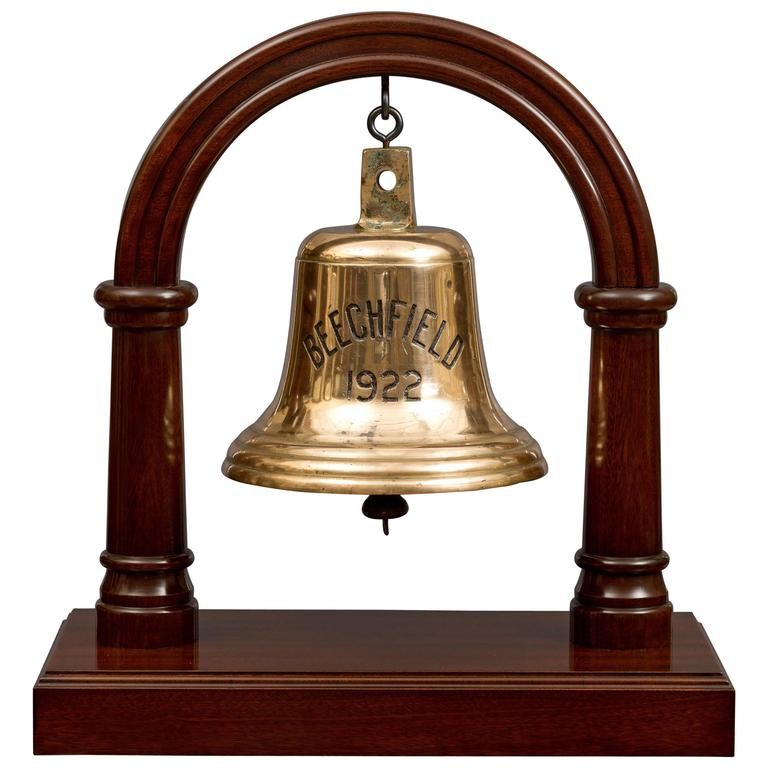 Antique Ships Bell from SS Beechfield at 1stdibs