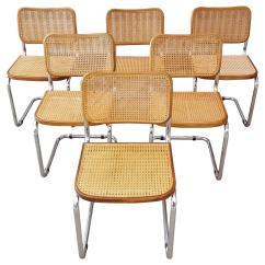 Cane Dining Chairs For Sale Traditional Office Chair Marcel Breuer Quotcesca Quot Tubular Chrome Steel And