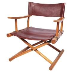 Leather Directors Chair Zanui Desk Director S By Sune Lindstrom For Sale At 1stdibs