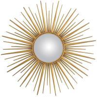 Gold Sun Mirror - Home Ideas
