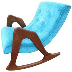 Adrian Pearsall Rocking Chair Frank Lloyd Wright Dining Sculptural For Craft Associates Mid Century Modern Sale