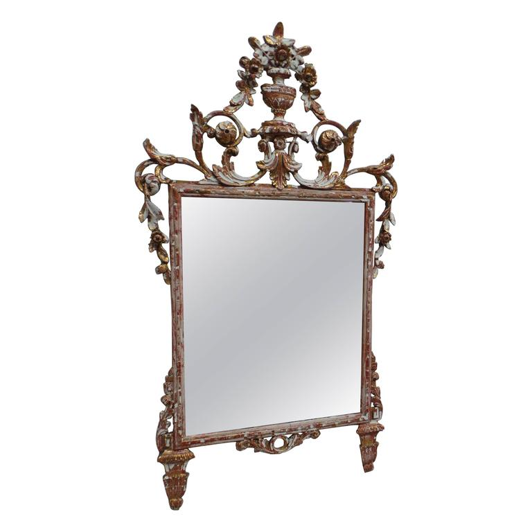 Antique Swedish Gustavian Mirror At 1stdibs