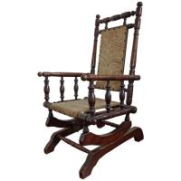 Rare Antique Rocking Chair for Children American Rocker ...