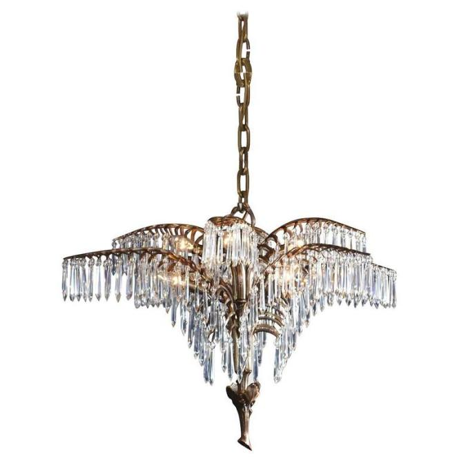 Josef Hoffmann 1918 Chandelier Re Edition For