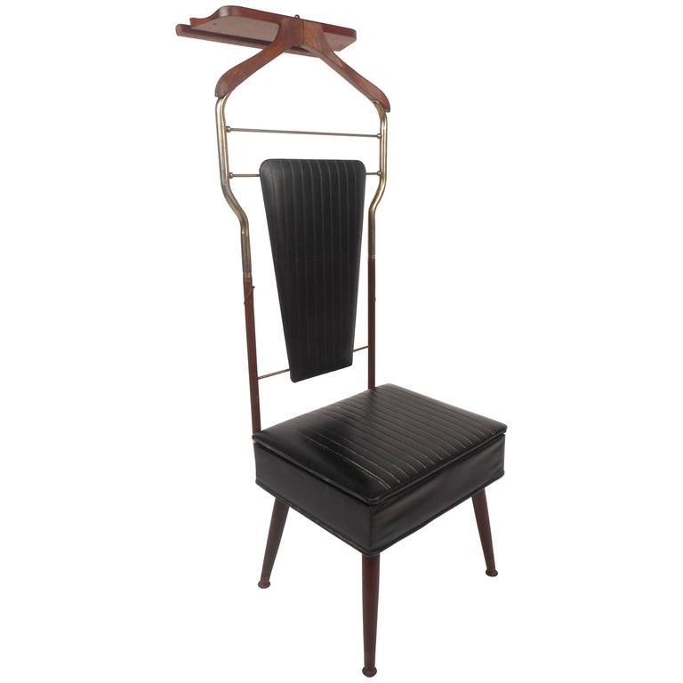 bedroom wardrobe chair valet high splat mat australia mid century modern butler for sale at 1stdibs
