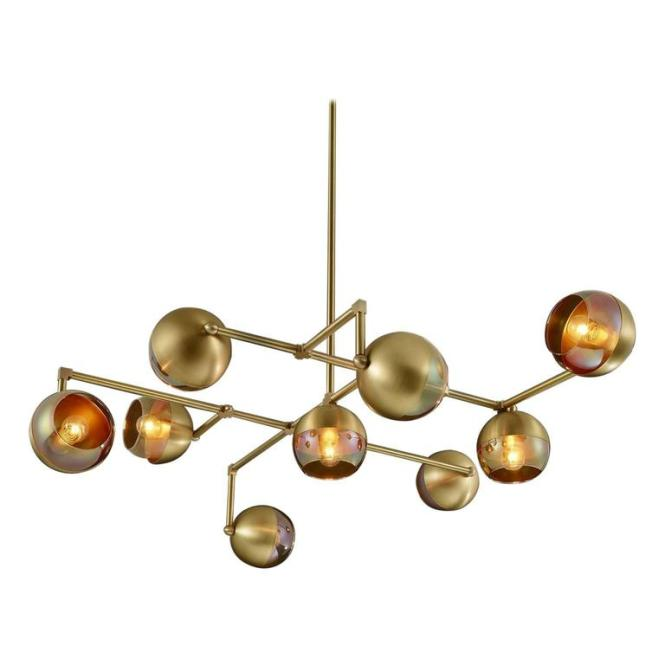 Float Made To Order Modern Brass Chandelier 1