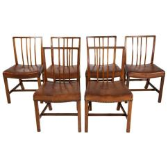 Danish Modern Dining Chair Covers For Backs Set Of 12 Chairs Ole Wanscher Sale At 1stdibs