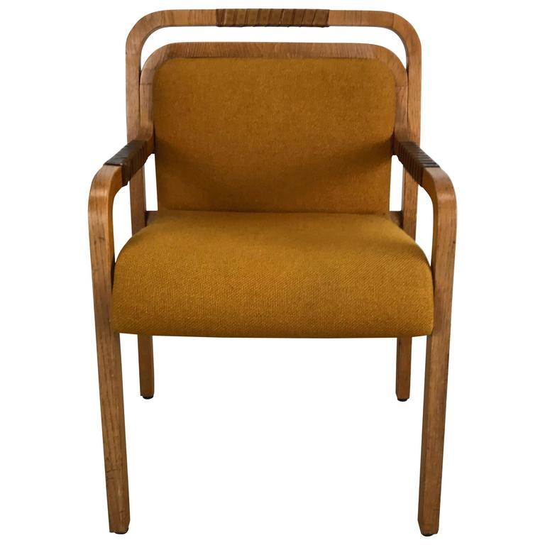 desk chair made dining covers for sale nz unusual modernist arm or by gunlocke at 1stdibs