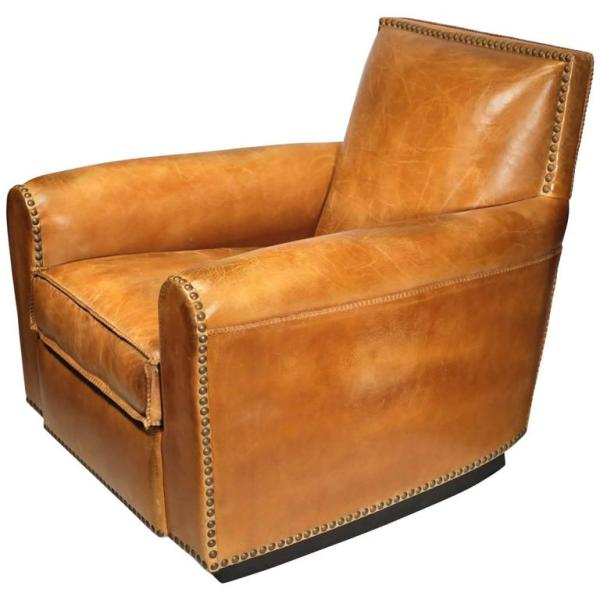 Brand New Distressed Leather Colorado Club Chair by Ralph