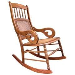 Rocking Chair Cane Woven Outdoor Chairs 23 For Sale At 1stdibs Mid 19th Century St Croix Regency Mahogany And